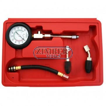 Compresiometru de benzina, ZT-04154 - ZIMBER-TOOLS