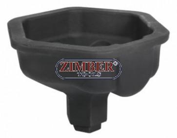 Cheie tubulara pentru butuc axa SAF Euro  Axle, ZR-36ANSS - ZIMBER-TOOLS.
