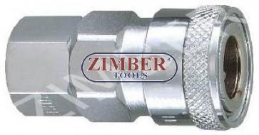 "Cuplaj rapid cu filet interior 1/4"" ZDC-2 - ZIMBER"