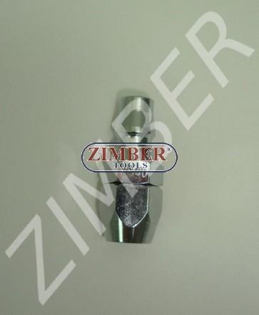 Cuplaj rapid pentru furtun  8X12mm din otel-ZIMBER