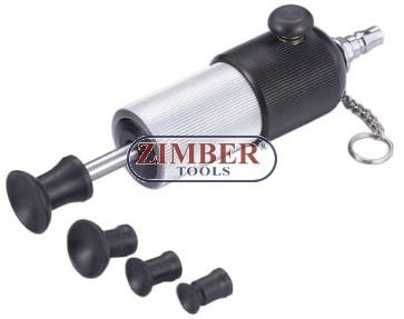 Pneumatic Ventuza pentru slefuit supape - ZR-36AVL - ZIMBER-TOOLS