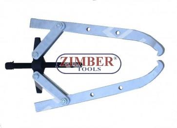 Presa Rulment cu 2 Ghiare - LONG -17t-ZIMBER