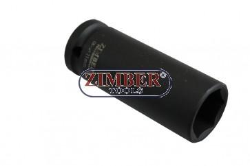 Tubulara de IMPACT 1/2 - 21mm, ZR-08DIS1221M - ZIMBER TOOLS.