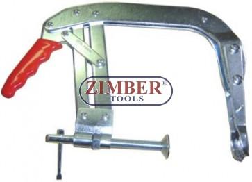 """Presa pentru arcuri de supape 68-130-mm. - 8"""" - ZR-36VSC08 - ZIMBER TOOLS."""