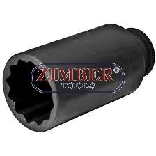 "Cheie tubulara impact pentru piulita butuc 36mm 1/2"" - ZIMBER - TOOLS"
