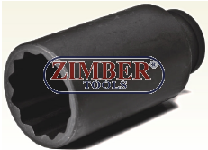Cheie tubulara pentru piulita butuc 34-mm 1/2  (ZT-04362) - SMANN TOOLS.