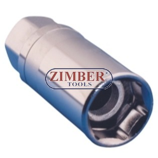 "Cheie Bujie Tubulara 21- mm 3/8"" ""MAGNETIC"" ""ZR-04SP3821V01- ZIMBER TOOLS"