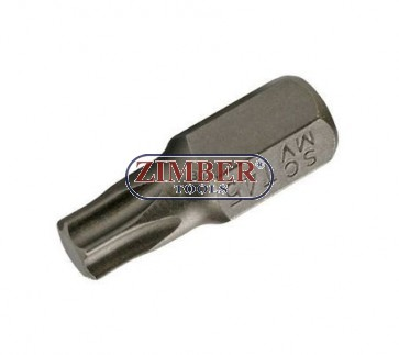 Imbus hexagonal TORX -Т27х30-mm, ZR-15B1030T27 - ZIMBER TOOLS