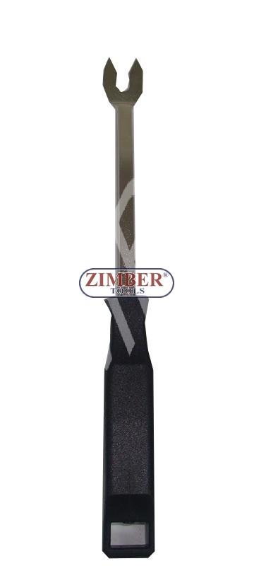 Scula pentru demontat cleme din plastic ZL-6462A - ZIMBER