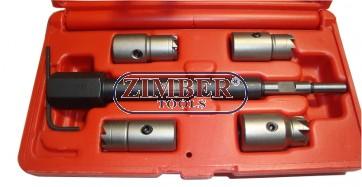 Trusă de frezat varf de injectoare,  ZR-36DISCS - ZIMBER-TOOLS