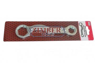 4 Size Motorcycle Wrench - ZR-36BW - ZIMBER-TOOLS