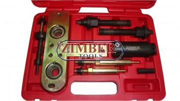 Trusă pentru extras cap injectoare Pentru motoare Mercedes CDI (OM 668, e.g. A-Class. ZR-36INP - ZIMBER TOOLS.