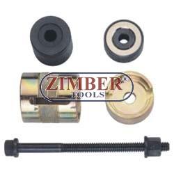 Dispozitiv de extragere şi montare bucşi braţ inferior  BMW - ZIMBER