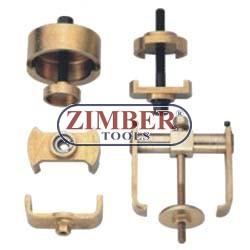 Dispozitiv de extragere şi montare bucşi braţ inferior MERCEDES W140 - ZIMBER