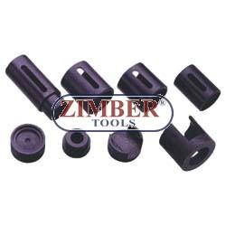Dispozitiv de extragere şi montare bucşi braţ inferior  BMW  E30, E36. - ZIMBER