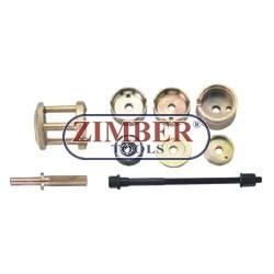 Set montare/demontare rulmenți roată , bucşi MERCEDES W210 - ZIMBER