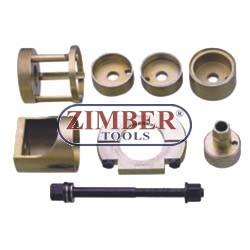 Set montare/demontare rulmenți roată , bucşi  MERCEDES W140, W126, W124.- ZIMBER