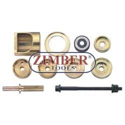 Set montare/demontare rulmenți roată , bucşi  MERCEDES W202, W170. - ZIMBER