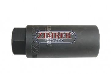 """Tubulara Sonda Lambda 22.mm 3/8"""" 80.mm -ZIMBER"""