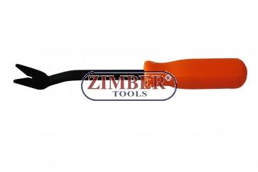 Scula pentru demontat cleme din plastic, ZR-36DPR - ZIMBER TOOLS.