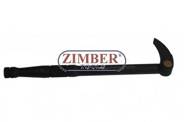 Levier cu varf reglabil  300mm - ZIMBER