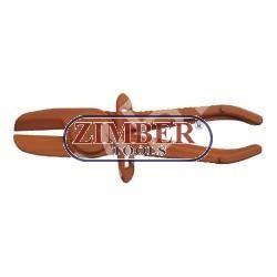 Clesti de stringere pentru furtun din cuciuc - 180mm - ф30 - ZIMBER