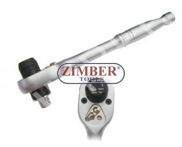 "Antrenor clichet dinamometric 3/8"" 25.Nm (200L) ZR-04TLR18 - ZIMBER-TOOLS"