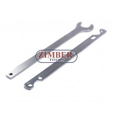 Trusa de chei pentru demontat ventilatoare termo-vascoase BMW - ZT-04A4023-1 - SMANN TOOLS