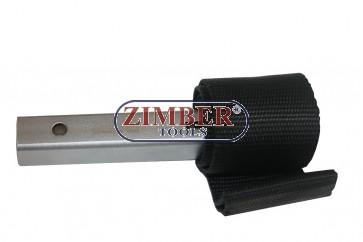 Cheie cu curea pentru filtru ulei. ZR-36NSOFW - ZIMBER TOOLS.