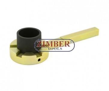 Cheie speciala pentru intinzator fulii pentru motoare BMW E39/E46/E60/E61/E81/E83/E90/E91 - ZT-04A4041 - SMANN TOOLS.