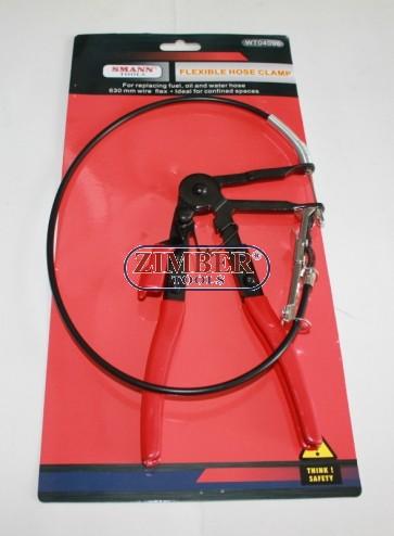 Cleste coliere furtunuri, ZT-04096 - SMANN TOOLS