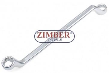 Cheie inelara dubla cu cot, 16 x 17 mm (30216) - BGS technic