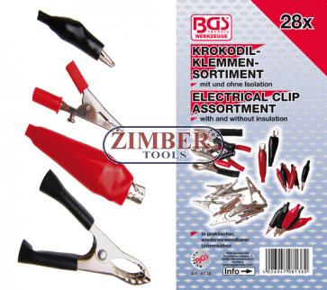Sortiment de clesti electrici, 28 piese (8138) - BGS technic.