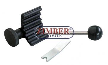 Blocaj pentru ax cu came motoare VW  TDI,  ZR-36ETTS59 - ZIMBER TOOLS