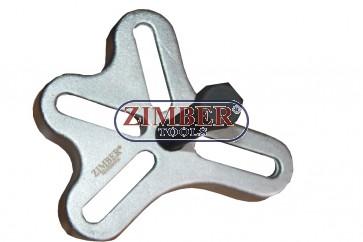 Extractor universal pentru tambur roti, fulii,pinioane, ZR-36PFT01 - ZIMBER TOOLS
