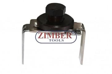 Cheie pompa combustibil 2 ghiare 80 mm la 122 mm - ZIMBER