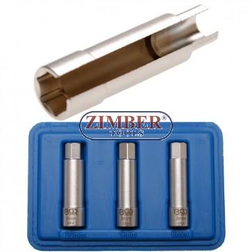 Set chei tubulare decupate pentru bujii incandescente speciale pentru Fiat, Alfa Romeo si Lancia - 7191 - BGS technic.