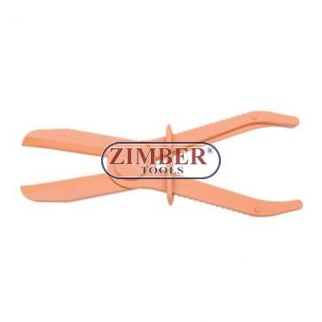 Clesti de stringere pentru furtun din cuciuc - 255-mm - ф60 - ZL-1801C- ZIMBER TOOLS
