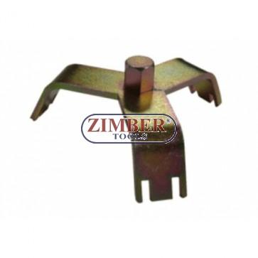 Cheie universala pentru demontat capacul superior de la rezervoare  FORD - JONNESWAY