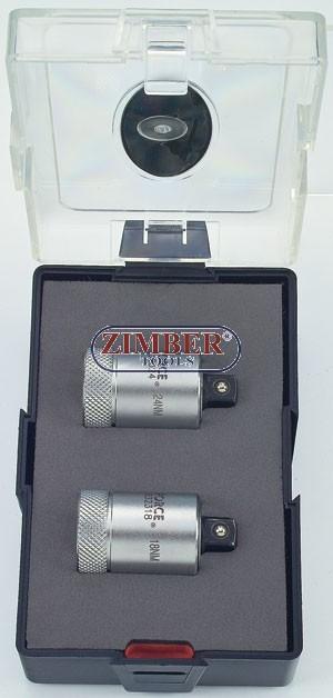 Set adaptoare dinamometrice pentru bujii - K3021 - FORCE