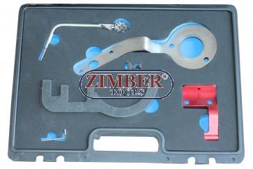 Set fixare distributie BMW/Mini -2014  1,5lt 3 cylinder (B37) si 2,0lt 4 cylinder (B47) Diesel  - ZT-04A2376D - SMANN TOOLS.