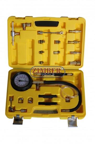 Tester presiune ulei motor si presiune pentru sistemul de alimentare  0 - 10 bar - ZT-04105A  - SMANN TOOLS