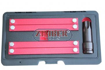 Set fixare distributie Merzedes Benz M276, M157, M278  - ZT-04A2360D - SMANN TOOLS.