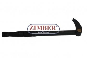 Levier cu varf reglabil  300mm - ZL-7123-300  - ZIMBER-PROFESSIONAL