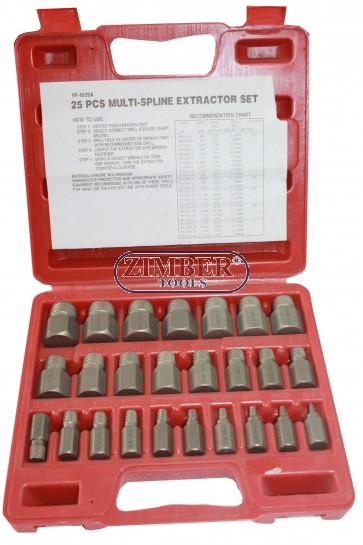 Extractor şurub  25 buc - ZIMBER
