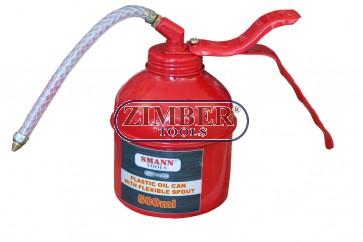 Pompa gresat ulei, metalic 500 ml - ZT-01W0024- SMANN TOOLS