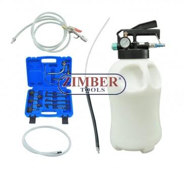 Pompa pentru schimb de ulei la cutii automate, actionare pmeumatica 14 buc. ATF /10L, ZT-04B1092- SMANN TOOLS.