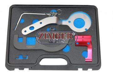 Set fixare distributie BMW/Mini -2014  1,5lt 3 cylinder (B37) si 2,0lt 4 cylinder (B47) Diesel  - ZR-36ETCT - ZIMBER TOOLS.