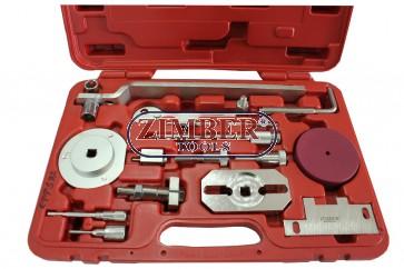 Set fixare distribuţie  Fiat,Iveco /Psa/ Ford, Citroen, Peugeot  - 2.2L, 2.3L, 3.0L,  ZR-36ETTS92 - ZIMBER TOOLS