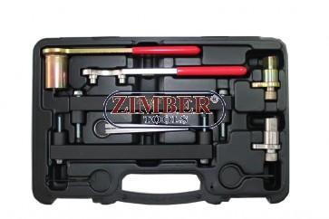 Set fixare distributie - Jaguar, Land Rover 3.2, 3.5, 4.0, 4.2, 4.4 V8 - Chain Drive, ZR-36ETTS74 -ZIMBER TOOLS.